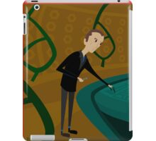 Inside The Tardis - Christopher Eccleston iPad Case/Skin