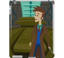 Inside The Tardis - David Tennant iPad Case/Skin