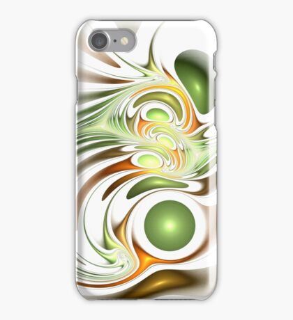 Green Creation iPhone Case/Skin