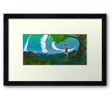 Worlds Away Framed Print