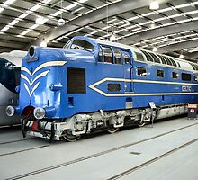 """Deltic"" Diesel Electric Engine by Woodie"