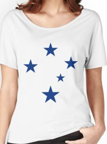 Southern Cross (Blue Stars) Women's Relaxed Fit T-Shirt