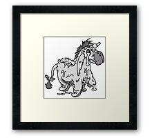 Eeyore Framed Print