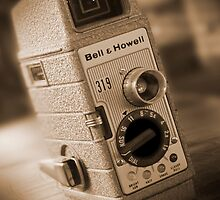 8mm Movie Camera by Mike  McGlothlen