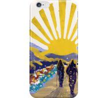 Pilgrimage Santiago de Compostela iPhone Case/Skin