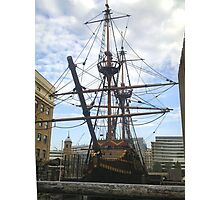 GOLDEN HIND IN DRY DOCK Photographic Print