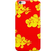 Abstract Clouds Pattern iPhone Case/Skin