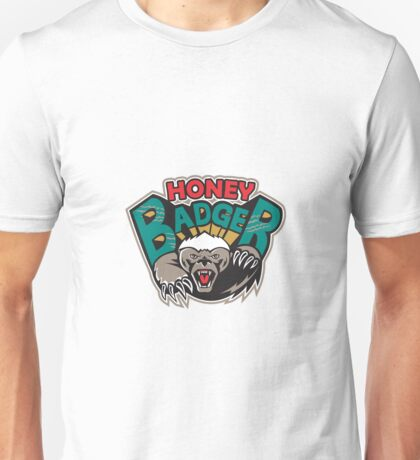 Honey Badger Mascot Front Unisex T-Shirt