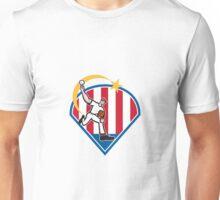 American Baseball Pitcher Star Unisex T-Shirt