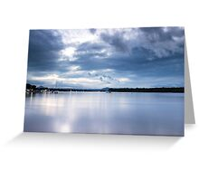 Dusk at Noosaville Greeting Card