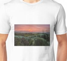 Sun Rise in the Peaks Unisex T-Shirt