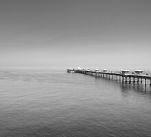 Far out to Sea-Llandudno by maxblack