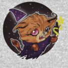 Kitty Wizard by TooManyPixels