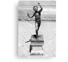 Pompeii Sun Statue Canvas Print