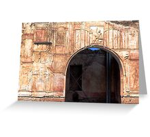 The Palace Of Pompeii Greeting Card