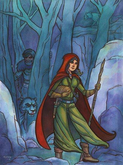 Red Riding Hood by ah-art