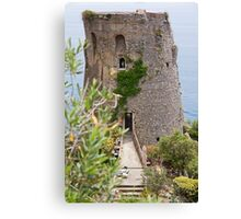 The Ancient Fortress Canvas Print