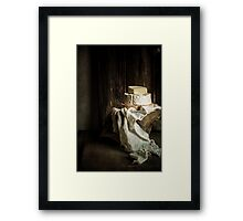 Just Cheese Framed Print