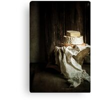 Just Cheese Canvas Print