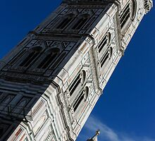 Giotto's Fantastic Campanile, Florence Cathedral, Piazza del Duomo, Florence, Italy by Georgia Mizuleva
