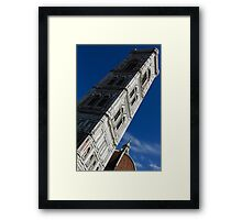 Giotto's Fantastic Campanile, Florence Cathedral, Piazza del Duomo, Florence, Italy Framed Print