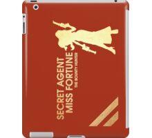 Secret Agent Miss Fortune - The Bounty Hunter iPad Case/Skin
