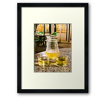Fresh chilled Framed Print