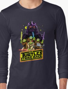 Turtles Strike Back Long Sleeve T-Shirt