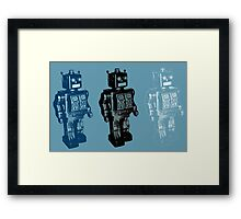 Rise of the Robots Framed Print