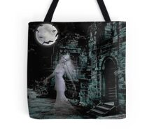 Past Midnight .. The lonely ghost Tote Bag