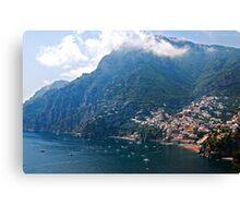 Beautiful Positano Canvas Print