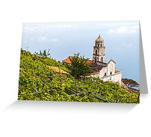 Church Above The Clouds Greeting Card