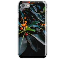 """Orange, Green and Dark"" iPhone Case/Skin"