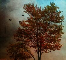 October Tree by PineSinger