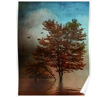 October Tree Poster