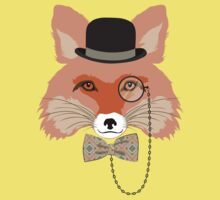 Fashion Animals - Foxy Fox by ccorkin