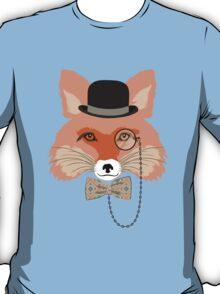 Fashion Animals - Foxy Fox | artwork by Olga Angelloz T-Shirt