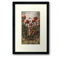 Aalbert Van Edeborg from Mushroom Mountains Framed Print