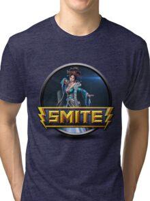 Smite Chang'e Logo Tri-blend T-Shirt
