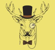 Fashion Animals - Sir Stagton | artwork by Olga Angelloz by ccorkin