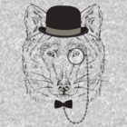 Fashion Animals - Baron Wolfenstien | artwork by Olga Angelloz by ccorkin