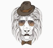 Fashion Animals - Van Lion Depreess | artwork by Olga Angelloz by ccorkin