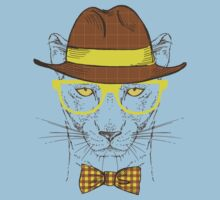 Fashion Animals - Cougar Smith | artwork by Olga Angelloz T-Shirt