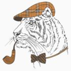 Fashion Animals - Tiger ron Do ron by ccorkin