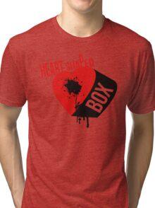 Heart Shaped Box Tri-blend T-Shirt