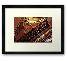 """ Piano"" Framed Print"