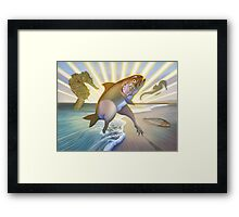 A Fish Called Wander Framed Print