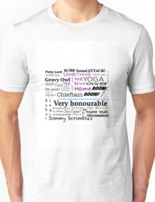 Something for the Drive Home Useful Phrases Unisex T-Shirt