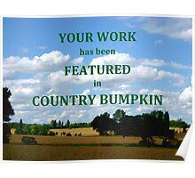 country bumpkin Poster
