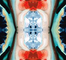 Nirvana - Pattern Art by Sharon Cummings by Sharon Cummings